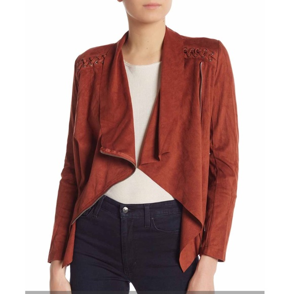 Vigoss Jackets & Blazers - VIGOSS Faux Suede Wrap Jacket